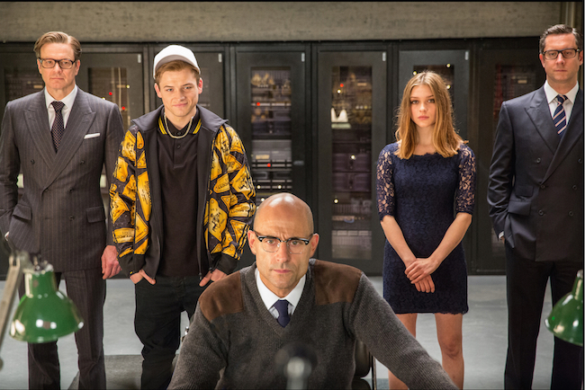 Kingsman: The Secret Service agents