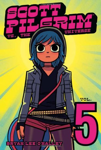 Scott Pilgrim vs. the Universe cover