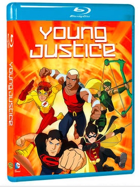 Young Justice Season 1 on Blu-ray