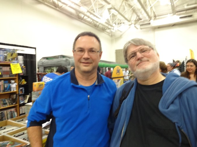 Kevin and KC at Wizard World Madison 2015