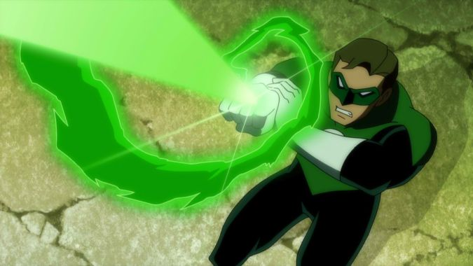 Green Lantern in Justice League: Doom