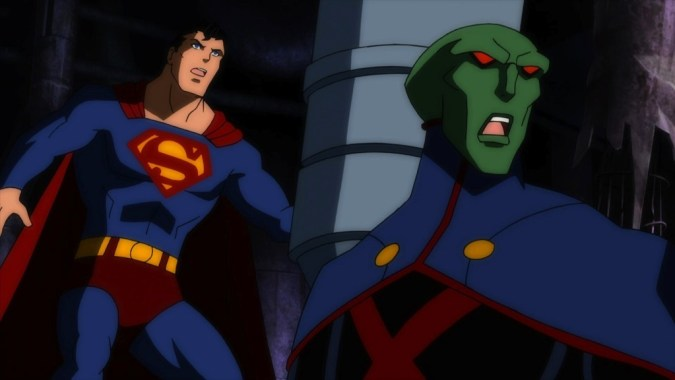 Justice League: Doom - Superman and Martian Manhunter