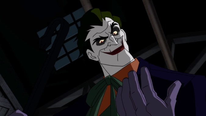 The Joker with a crowbar