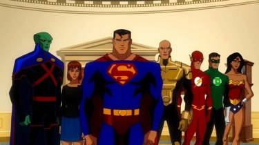 he Justice League with two alternate Earth characters -- First Daughter Rose Wilson and Lex Luthor