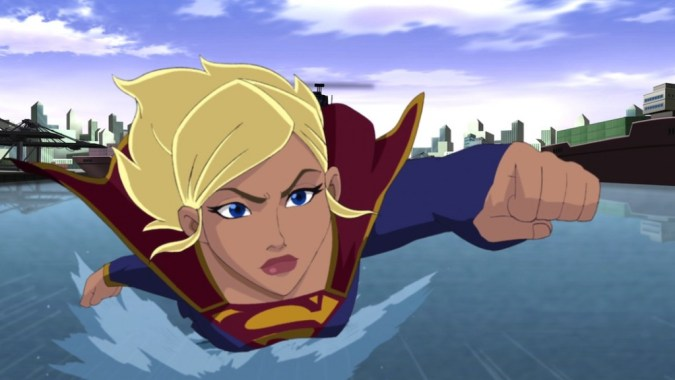 Supergirl in Superman: Unbound