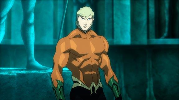 Aquaman in Throne of Atlantis