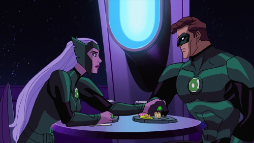 Boodikka and Green Lantern