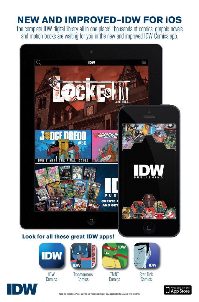 IDW apps promo image