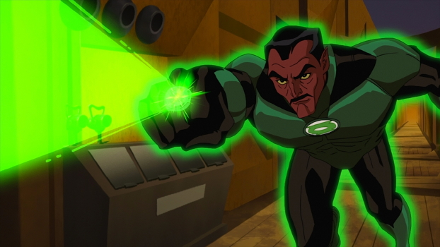 Sinestro using ring