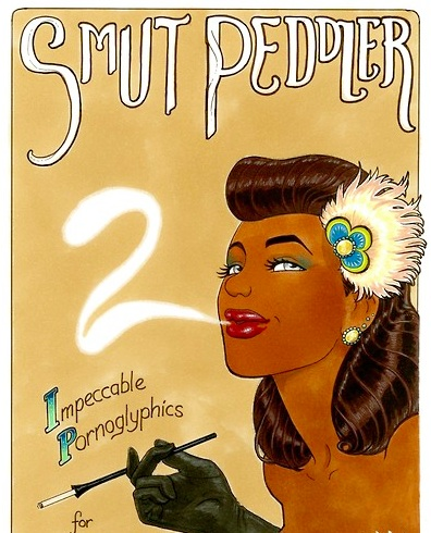 Smut Peddler 2 cover by Carla Speed McNeil