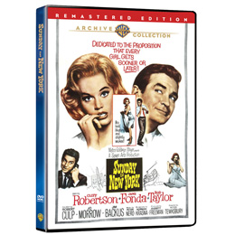 Sunday in New York DVD
