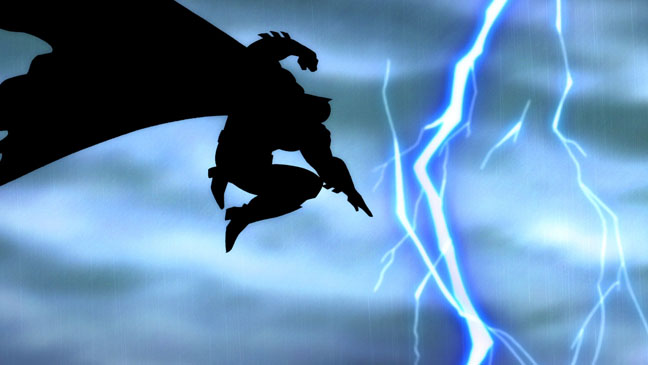 The Dark Knight Returns animated movie adaptation