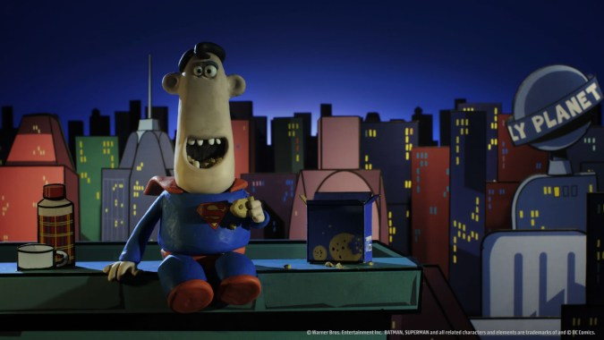 Superman by Aardman