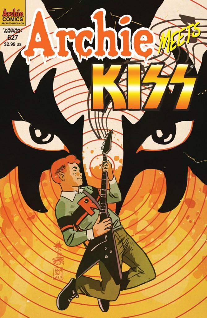 Archie #627 variant cover by Francesco Francavilla
