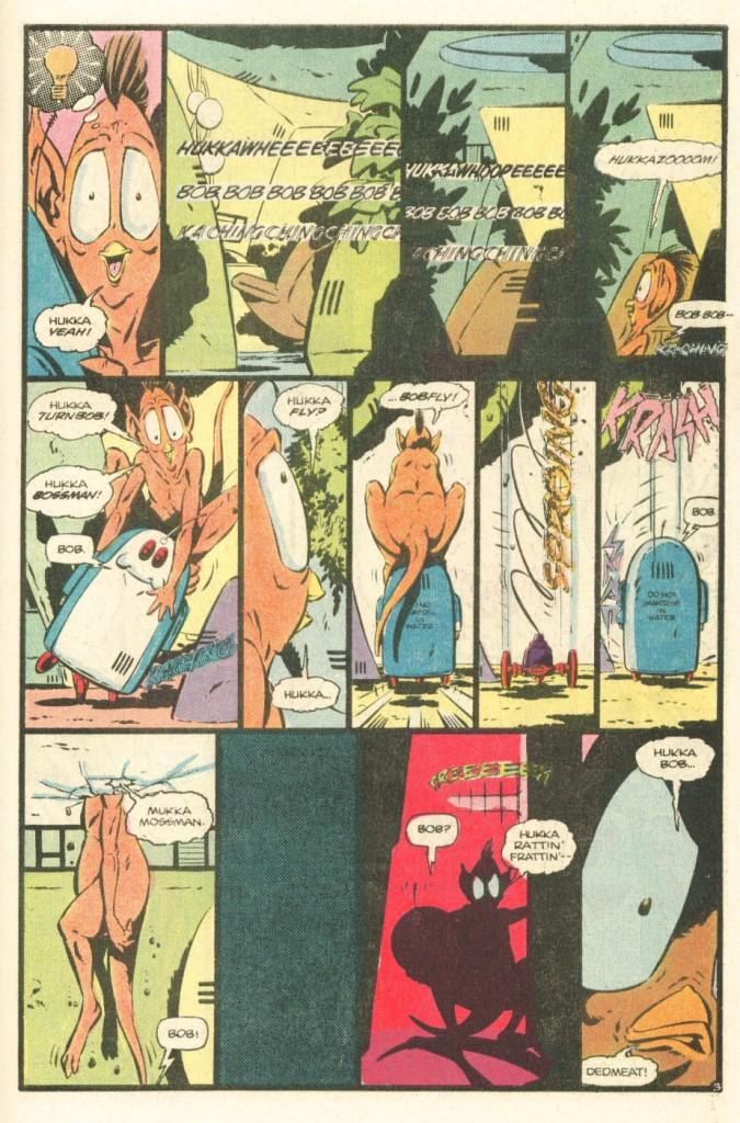 Atari Force #20 Hukka vs. the Bob page 3