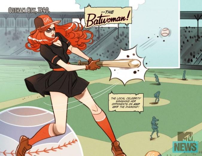 DC Bombshells Batwoman 2