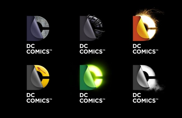 DC logo versions