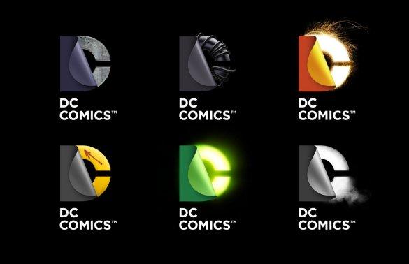 DC logo versions
