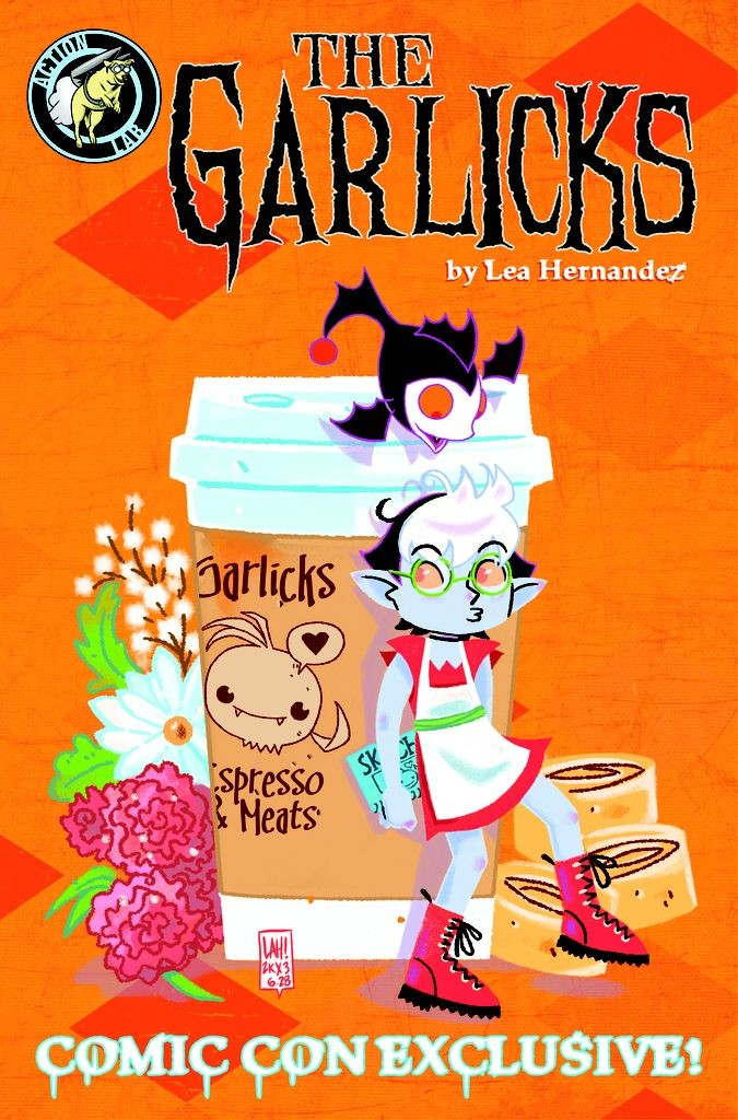The Garlicks SDCC preview