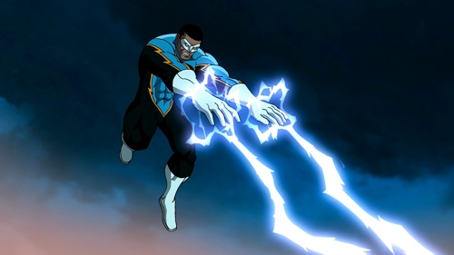 Black Lightning, played by LeVar Burton