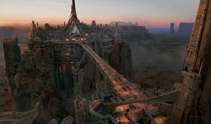 The city of Helium in John Carter