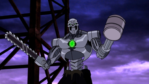 Metallo, voiced by John C. McGinley