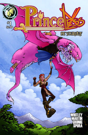 Princeless Volume 4: Be Yourself #1