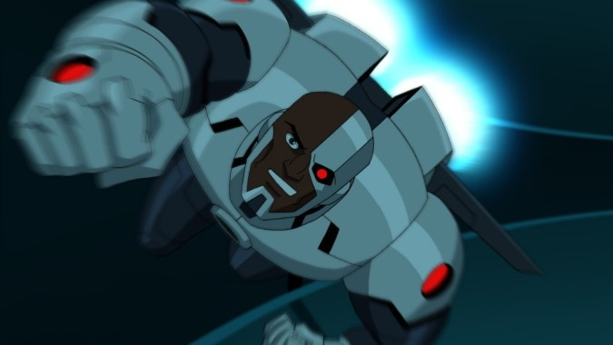 Cyborg in Batman Unlimited