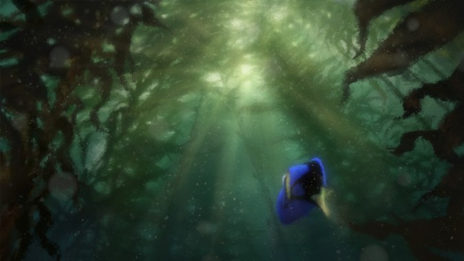 Finding Dory color test