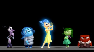Fear, Sadness, Joy, Disgust and Anger in Pixar's Inside Out