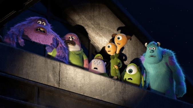 Oozma Kappa (OK) frat in Monsters University