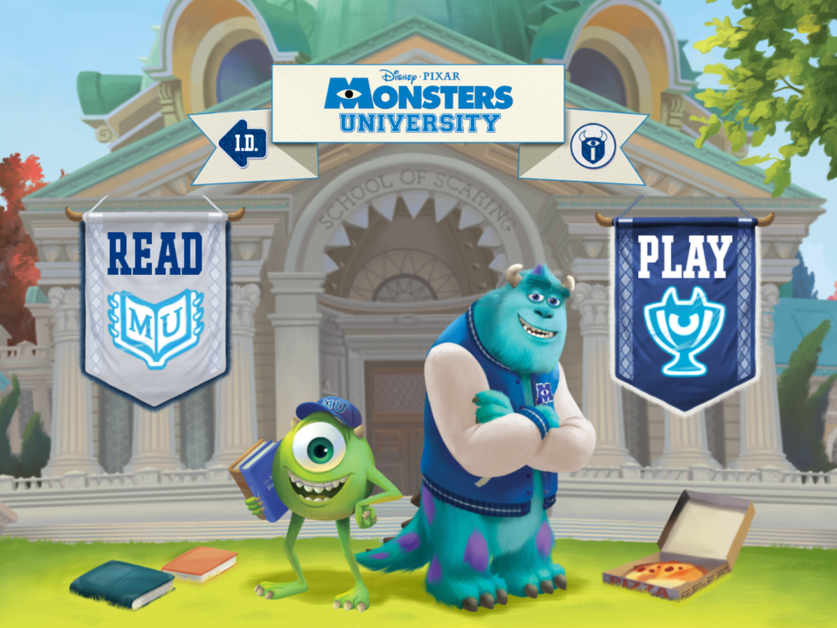 "View Monsters University Cartoon ""Party Central"" by Joining Disney Movies Anywhere"