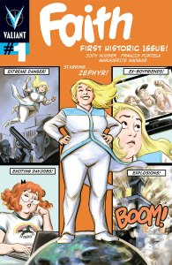 Faith #1 cover by Colleen Coover