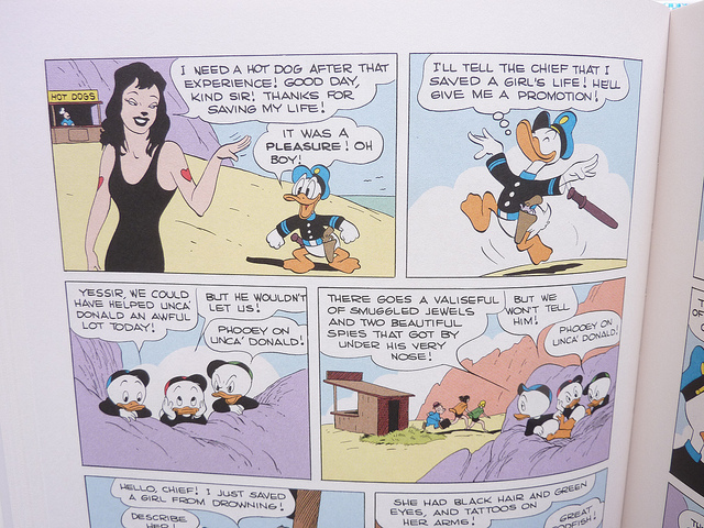 Panel from Donald Duck: The Old Castle's Secret