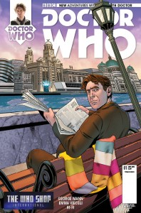 Doctor Who: The Eighth Doctor #1 cover by Rachael Stott