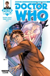Doctor Who: The Eighth Doctor #5 cover by Rachael Stott