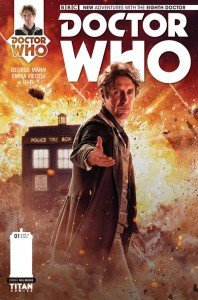 Doctor Who: The Eighth Doctor #5 cover by Will Brooks