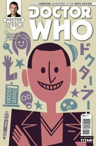 Doctor Who: The Ninth Doctor #1 cover by Question No. 6