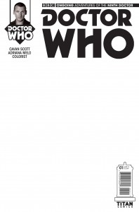 Doctor Who: The Ninth Doctor #1 blank sketch cover