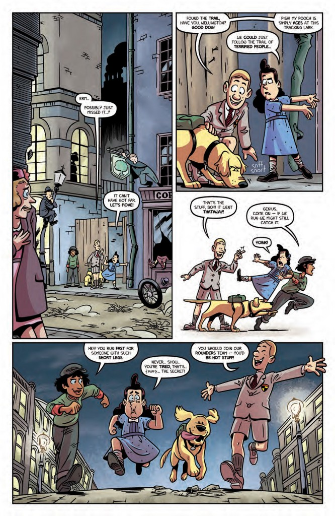 The Baker Street Peculiars #1 page 7