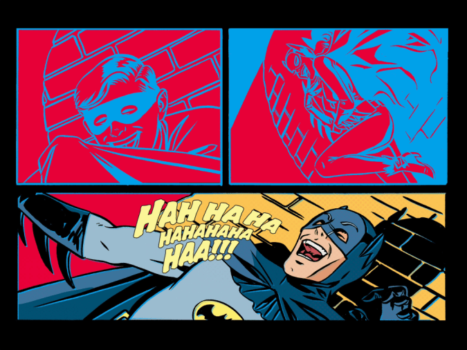 Batman 66 #31 panels