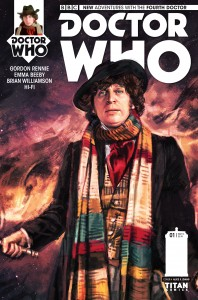 Doctor Who: The Fourth Doctor #1 cover by Alice X. Zhang