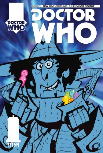 Doctor Who: The Fourth Doctor #1 cover by Matt Baxter