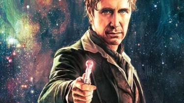 Doctor Who: The Eighth Doctor #1 cover by Alice X. Zhang