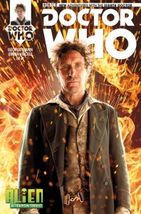 Doctor Who: The Eighth Doctor #1 photo cover for Alien Entertainment