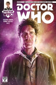 Doctor Who: The Eighth Doctor #1 cover by Mariano Laclaustra