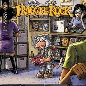 Fraggle Rock alternate cover