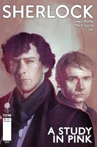 Sherlock manga cover by Rod Reis