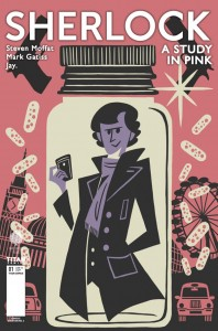 Sherlock manga cover by Question No. 6