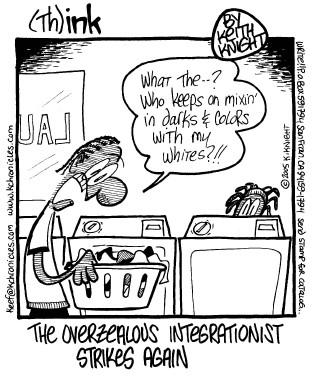 Integrationist cartoon